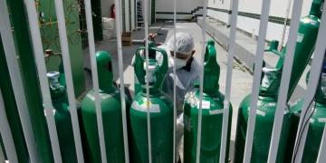 O estoque de oxigênio acabou nos hospitais de Manaus (Reprodução)
