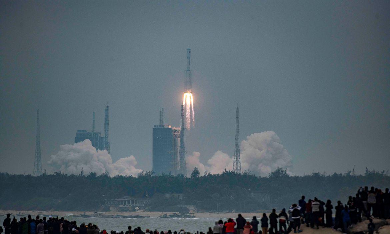 Lançamento de foguete China