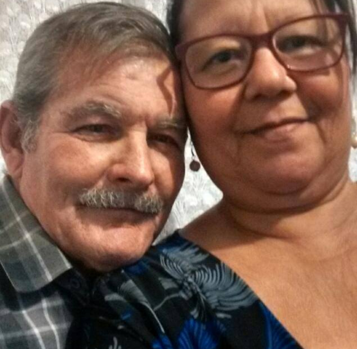 Luiz Sebastião e a esposa Fátima Mercedes Ferreira Sebastião não resistiram (Foto: Rede Social)