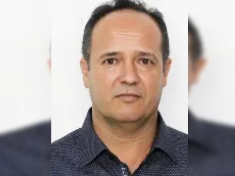 João Carlos Rainho estava internado e intubado no Hospital de Base de Rio Preto (Foto: Arquivo Pessoal)
