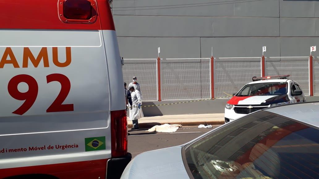 Idosa morre após atropelamento em Araçatuba