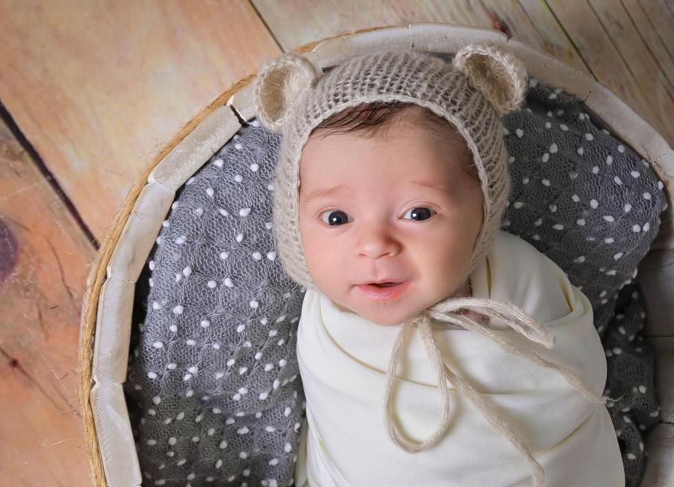 Bebê nasce com anticorpos contra a Covid, em Santa Catarina