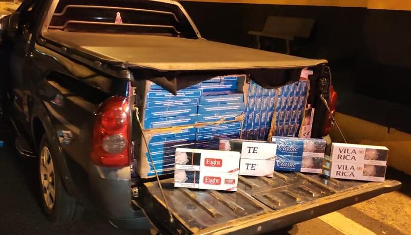 Cigarros seriam vendidos em Brigui (SP - Foto: Divulgação/ Polícia Militar