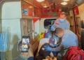 Criança é resgatada após ficar 4 horas desaparecida na área rural de Campinas (Foto: Guarda Municipal)