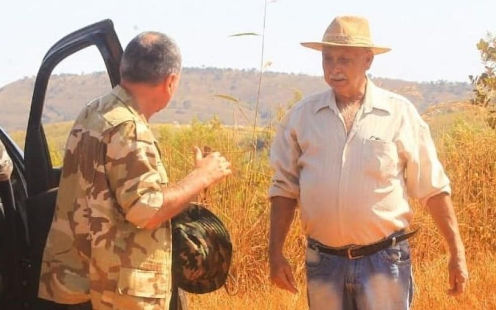 Fazendeiro Elmi Caetano foi indiciado por ajudar Lázaro Barbosa a fugir da polícia em Goiás — Foto: Wesley Costa/O Popular